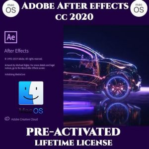 Adobe After Effects MacOS 2020 Pre-Activated