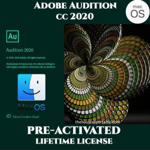 ADOBE Audition MacOs 2020 Pre-Activated