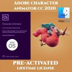 ADOBE Character Animator MacOS 2020
