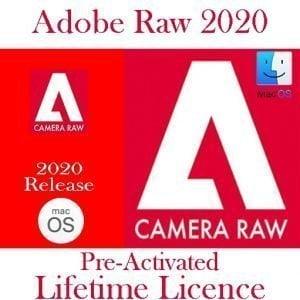 ADOBE Camera RAW MacOs 12 2020