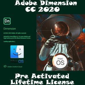 ADOBE Dimension 2020 MacOs Pre-Activated