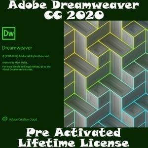 ADOBE DreamWeaver CC 2020 Pre-Activated