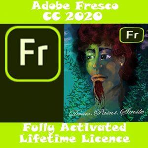 ADOBE FRESCO CC 2020 Pre-Activated