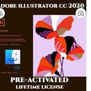Adobe Illustrator CC MacOS 2020 Pre-Activated