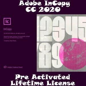 ADOBE InCopy CC 2020 Pre-Activated