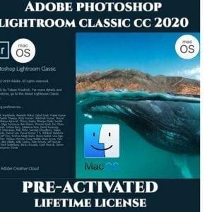 Adobe Photoshop Lightroom MacOS 2020