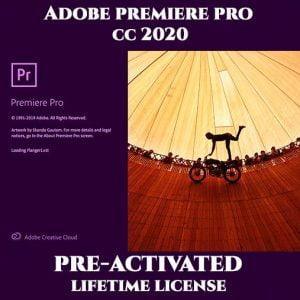 Adobe Premiere Pro 2020 Pre-Activated