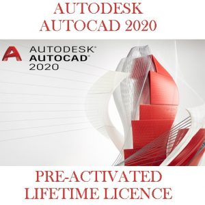 AutoDesk AutoCad Fully Activated 2020-2021
