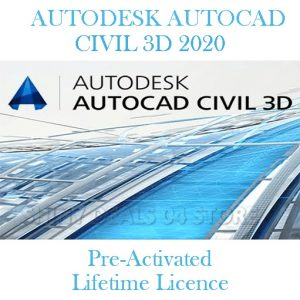 AutoDesk Civil 3D Fully Activated 2020-2021
