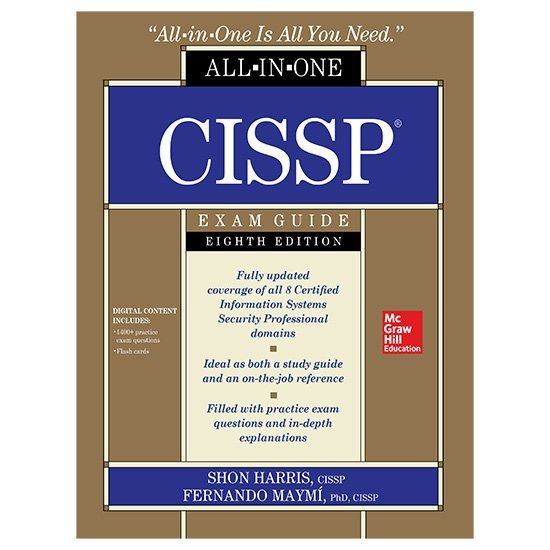 CISSP All-in-One Exam Guide, Eighth Edition PDF E-book By Shon Harris & Fernando Maymi