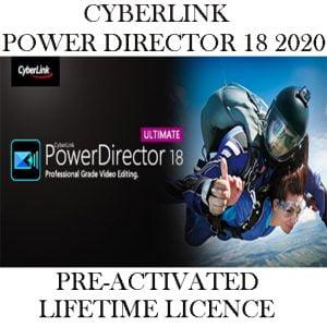CYBERLINK POWER DIRECTOR ULTIMATE 18