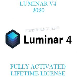 LUMINAR 4 Pre-Activated For Windows
