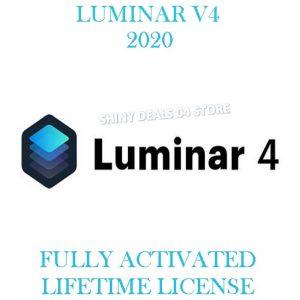 LUMINAR 4 MacOs Pre-Activated