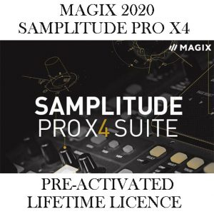 MAGIX SAMPLITUDE PRO SUITE X4 2020