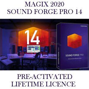MAGIX SOUND FORGE PRO 14 2020