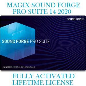 MAGIX SOUND FORGE SUITE PRO14 2020