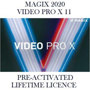 MAGIX VIDEO PRO X11 Pre-Activated