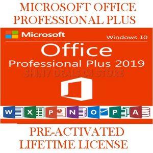 MICROSOFT OFFICE PRO 2019