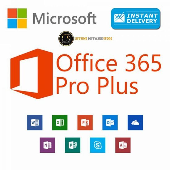 Buy Office 365 Pro Plus Account For 5 Devices Mac & Windows