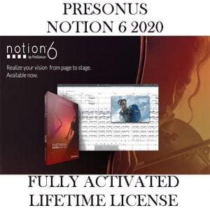 PRESONUS NOTION 6 2020 Pre-Activated