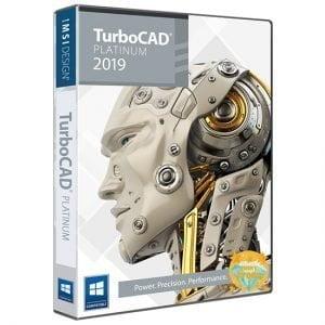 TurboCAD Platinium 2019 Pre-Activated