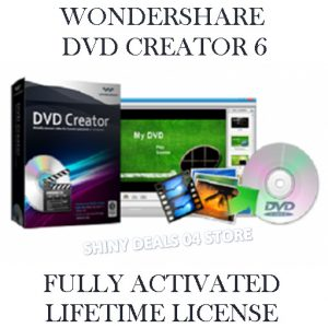 WONDERSHARE DVD CREATOR 6 Activated