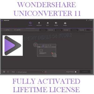 WONDERSHARE UNICONVERT 11.7