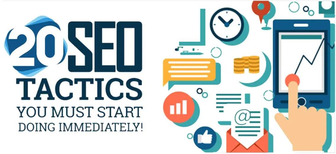 You are currently viewing Top 20 SEO Tactics That Really Work