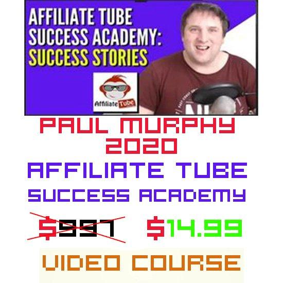 Affiliate Tube Success AcademyBy Paul Murphy