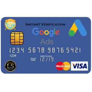 Google Ads (Adwords) VCC _ Instant Verification
