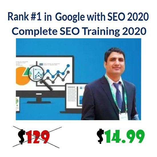 Complete SEO Training 2020 - Rank #1 in Google with SEO 2020