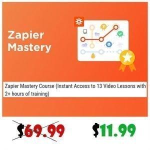 Zapier Mastery 2020 Course