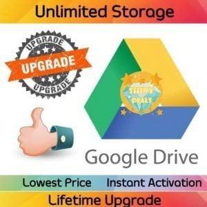 Unlimited Google Drive Shared Storage