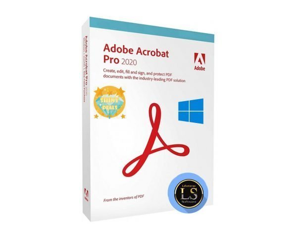 Adobe Acrobat DC Pro 2019-2020 Windows & Mac (64 Bit) Fully Pre-Activated With Lifetime License Software