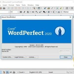 Corel WordPerfect Office Professional 2020